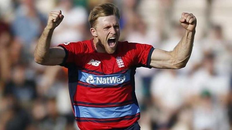 Image result for david willey cricketer ipl