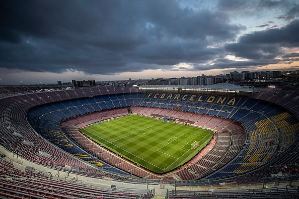 Camp Nou will host the Catalan Derby