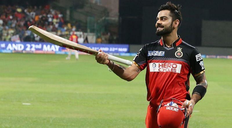 Virat Kohli played an excellent knock in Bengaluru