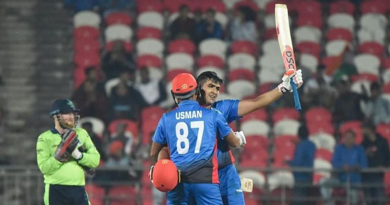 Afghanistan posted World record 278/3 vs Ireland