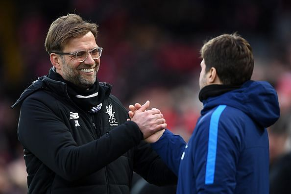 Klopp and Pochettino would each be wanting to have the upper hand.
