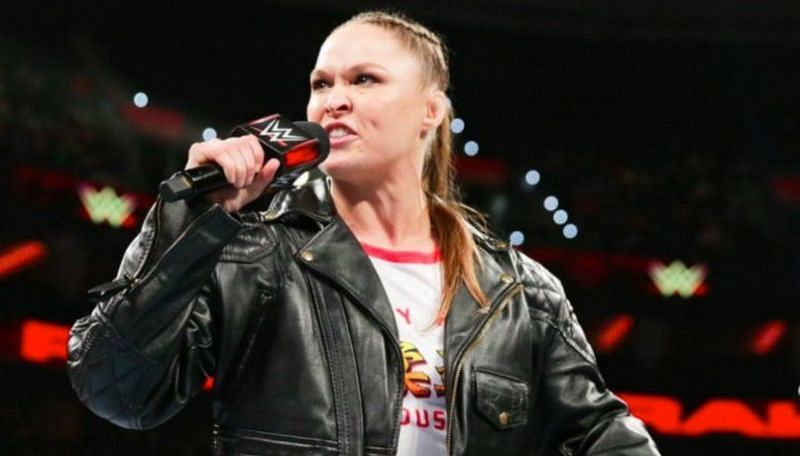Ronda Rousey was furious at the WWE Universe on the latest episode of RAW