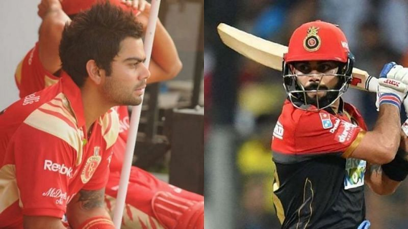 Virat Kohli in the IPL: The transformation from 2008-2018 in pictures