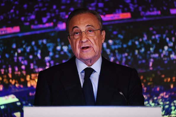 A big summer up ahead for the Real Madrid president