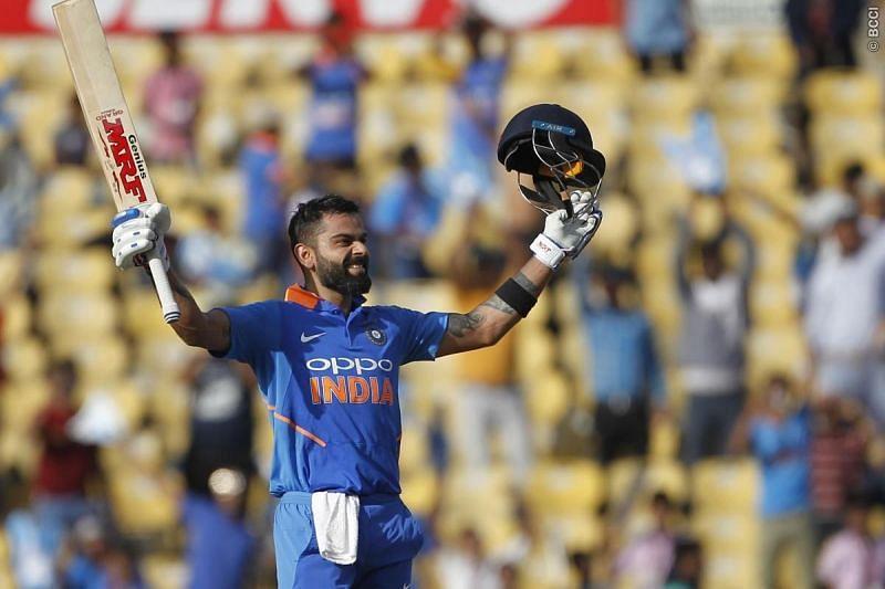 World number 1 odi Batsmen Hit the 40th Odi Ton