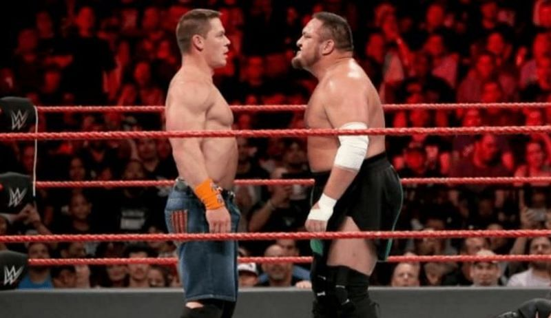 Cena vs Joe would be a big draw