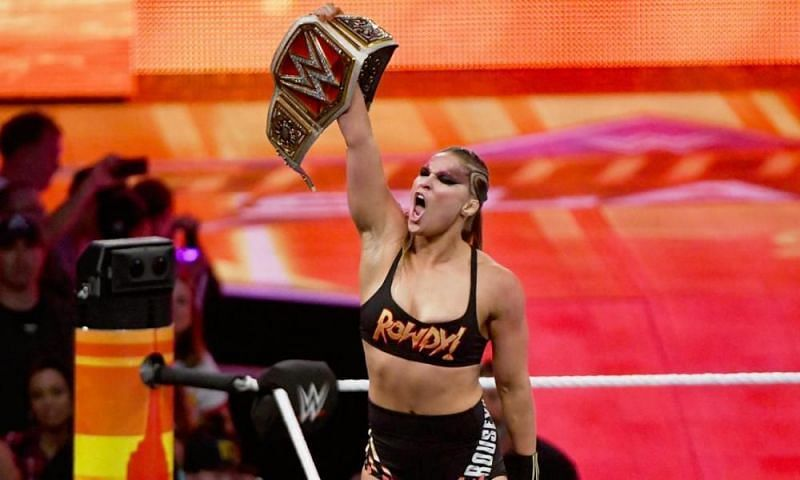 Rousey has had a stellar 12 months in WWE