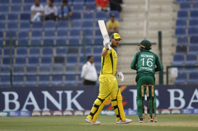 Finch scored 90 runs