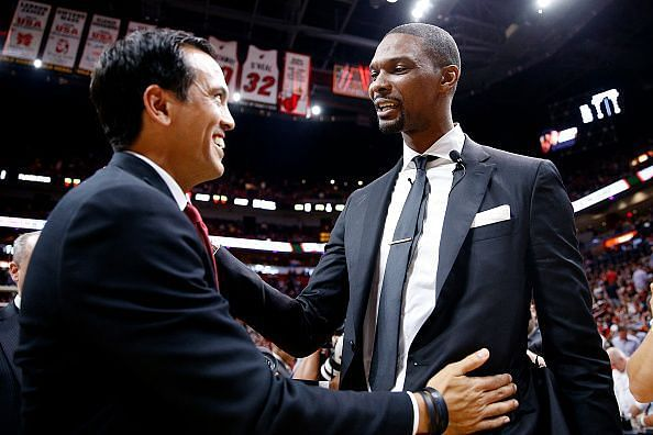 Both Vince Carter's No. 15 and Chris Bosh's No. 4 should be retired and both men recognized for their contributions to the organization
