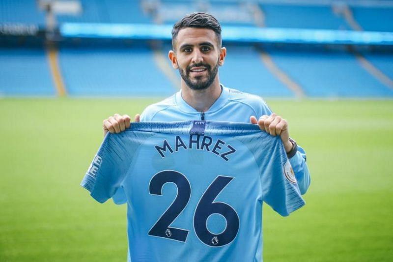 Riyad Mahrez is Manchester City