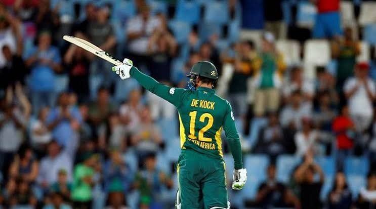 De kock scored brilliant century