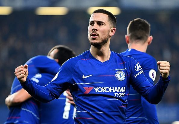 Hazard is determined to help Chelsea achieve UCL qualification