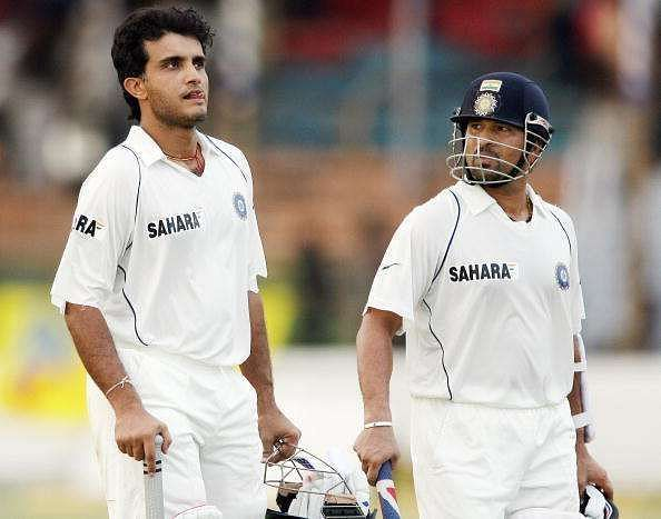 Sourav Ganguly And Sachin Tendulkar