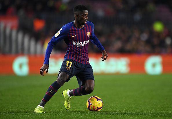 FC Barcelona attacker Ousmane Dembele