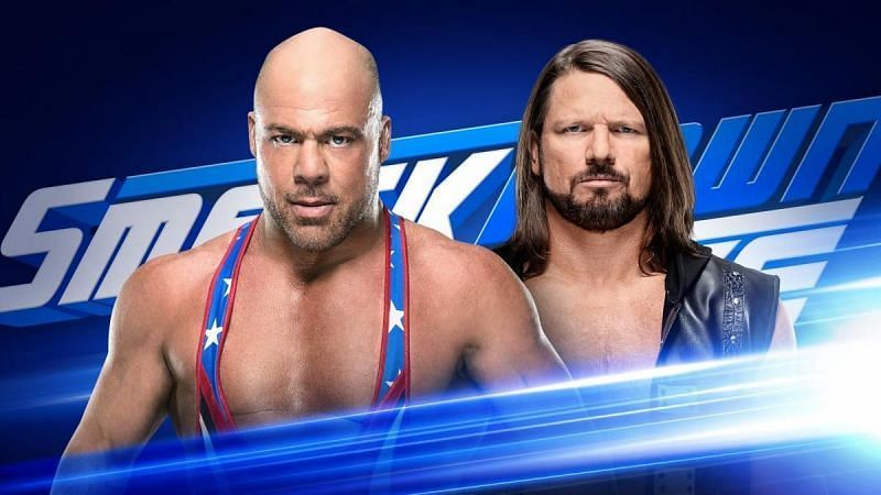 kurt angle and aj styles will go one on one in this week