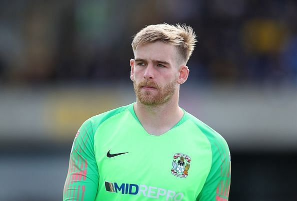 Lee Burge during Oxford United v Coventry City - Sky Bet League One