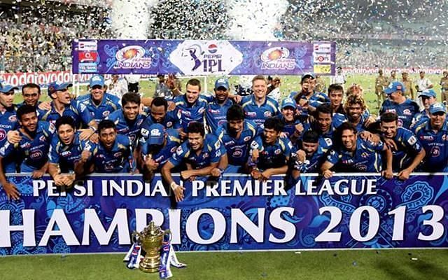 Mumbai Indians were the champions of IPL 2013