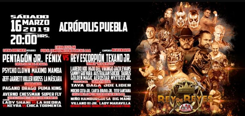 Rey de Reyes was the first great event of 2019 for AAA