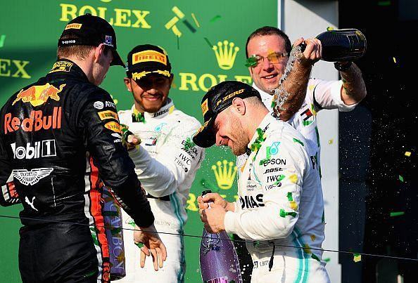 Bottas won the inaugural race of the 2019season