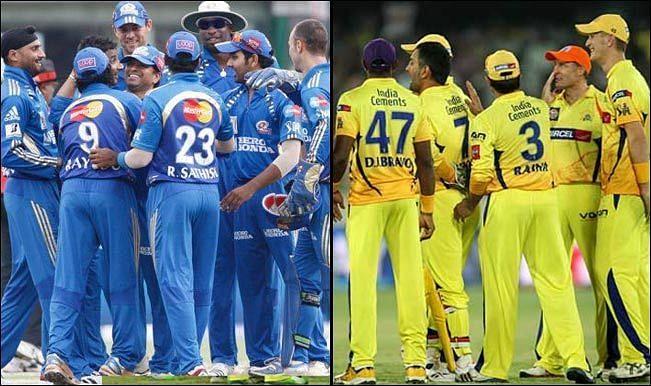 Mumbai Indians And Chennai Super Kings Team