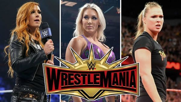 The main event is set for Wrestlemania 35.