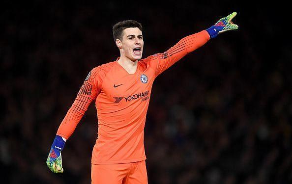Kepa Arrizabalaga has slotted in well at Chelsea