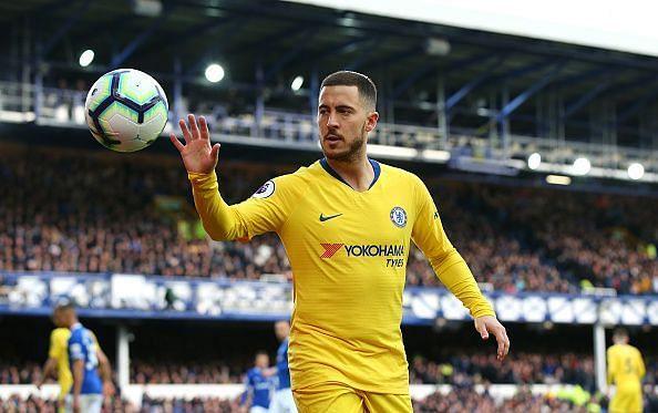 Eden Hazard may stay put at Stamford Bridge.