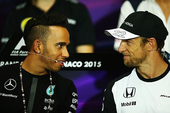 Lewis Hamilton & Jenson Button