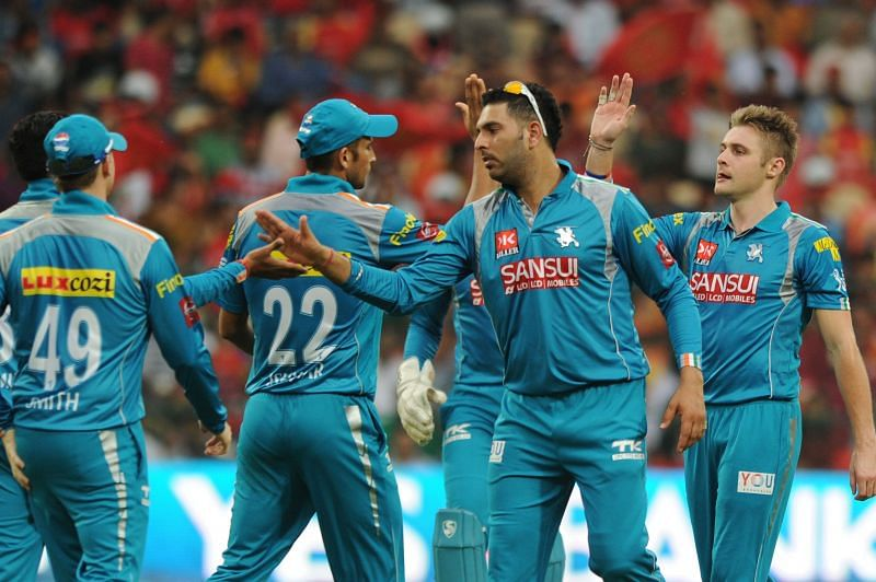 Pune Warriors India remained a part of IPL from 2011-13.