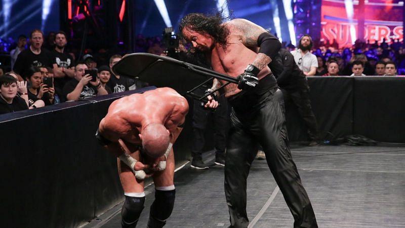Image result for undertaker vs triple h 2018