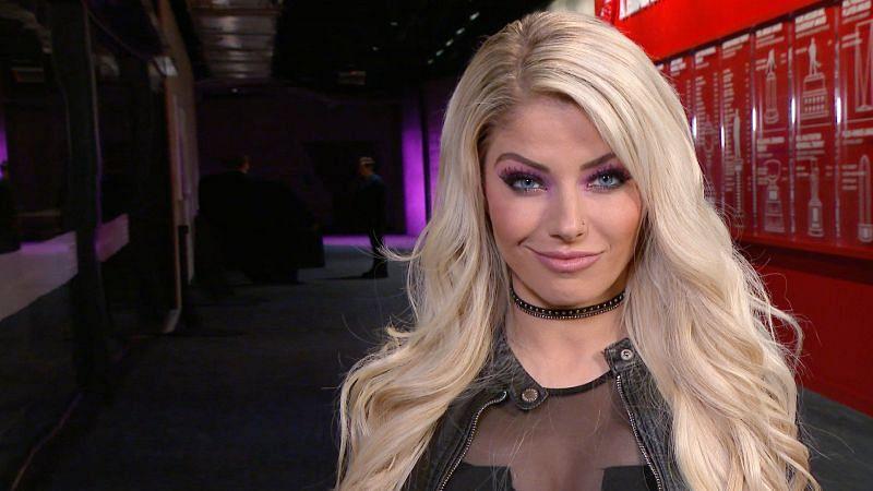 Why was Alexa Bliss chosen as the WrestleMania 35 host?
