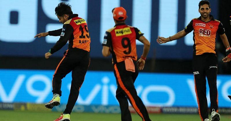 Sunrisers Hyderabad Bowling Combination