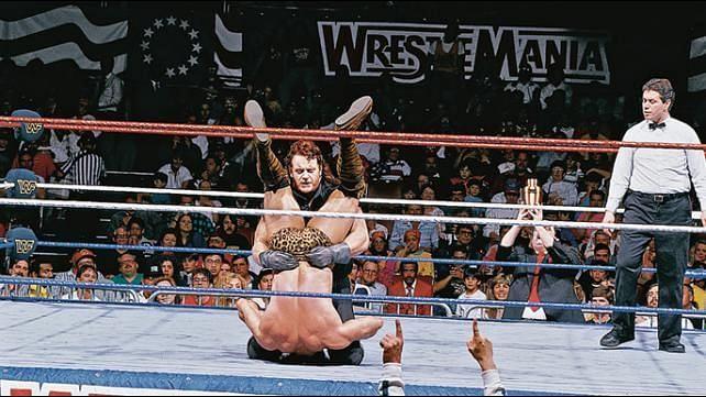 undertaker at Wrestlemania 7