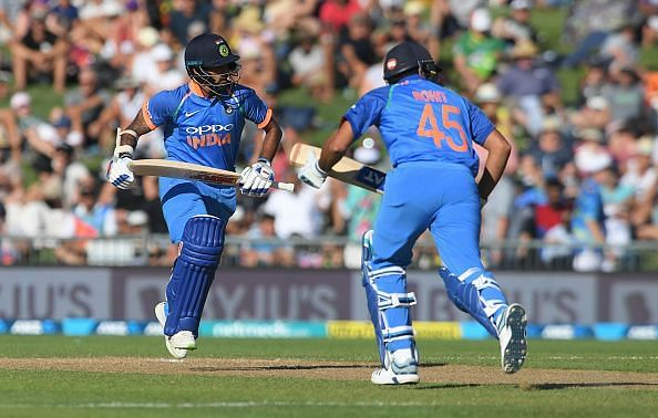 Shikhar Dhawan and Rohit Sharma were not at their best in the ODI series