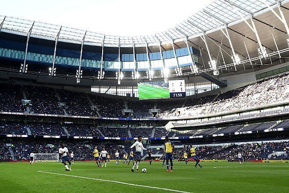 The impressive new Tottenham Hotspur stadium