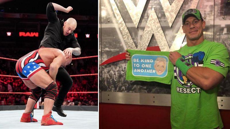 Baron Corbin will face Kurt Angle at WrestleMania 35