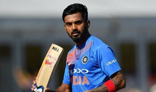 KL Rahul came in at number 3 at 4th odi