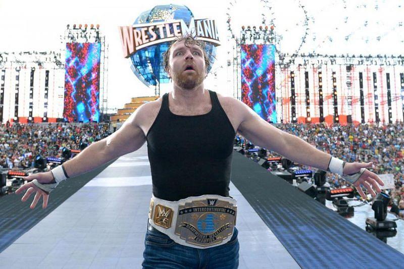 Ambrose should main event WrestleMania