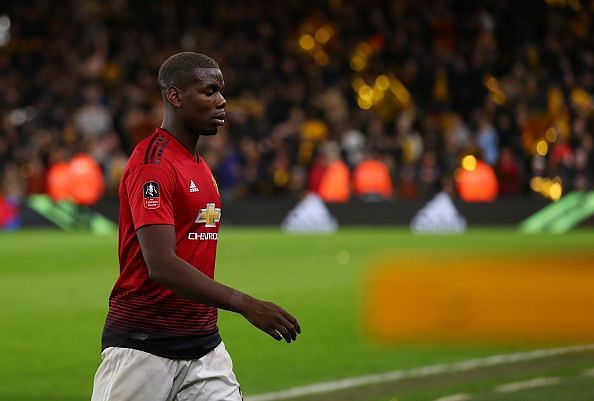 Pogba would be leading United