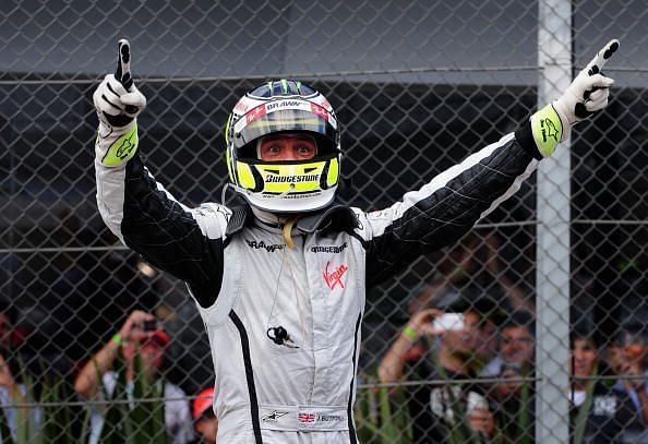 The moment Button became a Formula One world champion