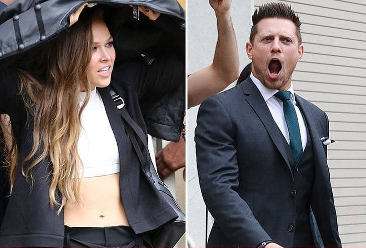 The Miz has nothing but praises for Rousey