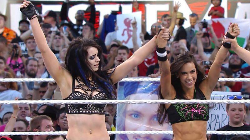AJ Lee and Paige