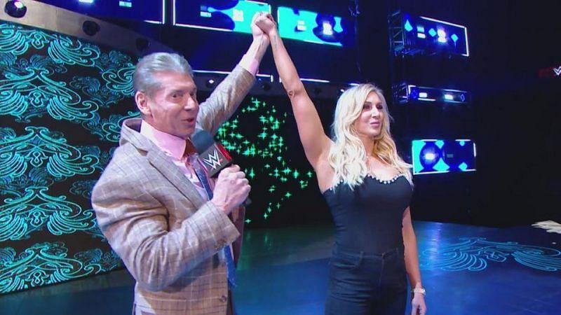 Vince McMahon and Charlotte Flair