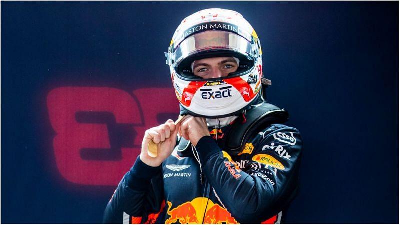 Red Bull star Max Verstappen