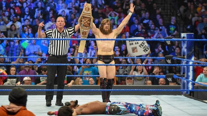 Will there be a triple threat match for the WWE Championship on April 7?