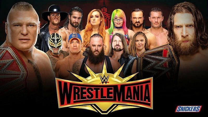 WrestleMania 35 is less than 35 days away!