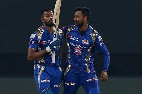 The Pandya brothers have been the face of Mumbai Indians