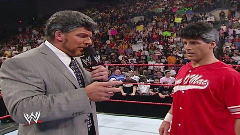 DX mocking the McMahons