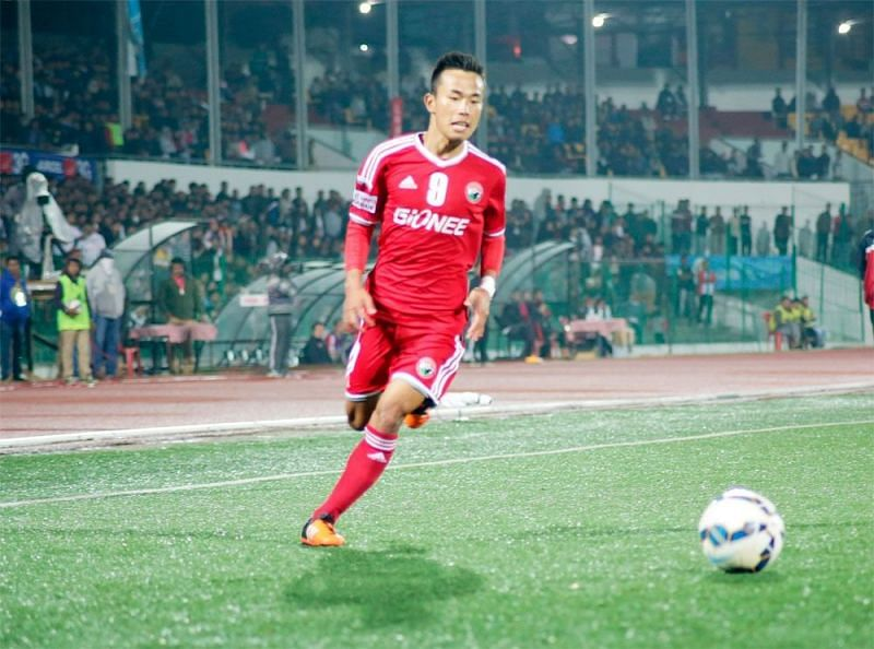 Samuel joined Lajong as a youth team player