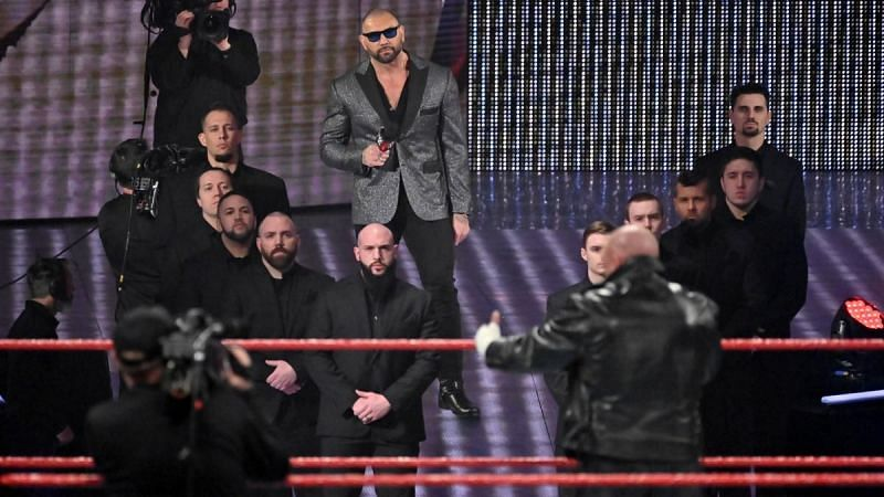 Triple H and Batista on WWE RAW